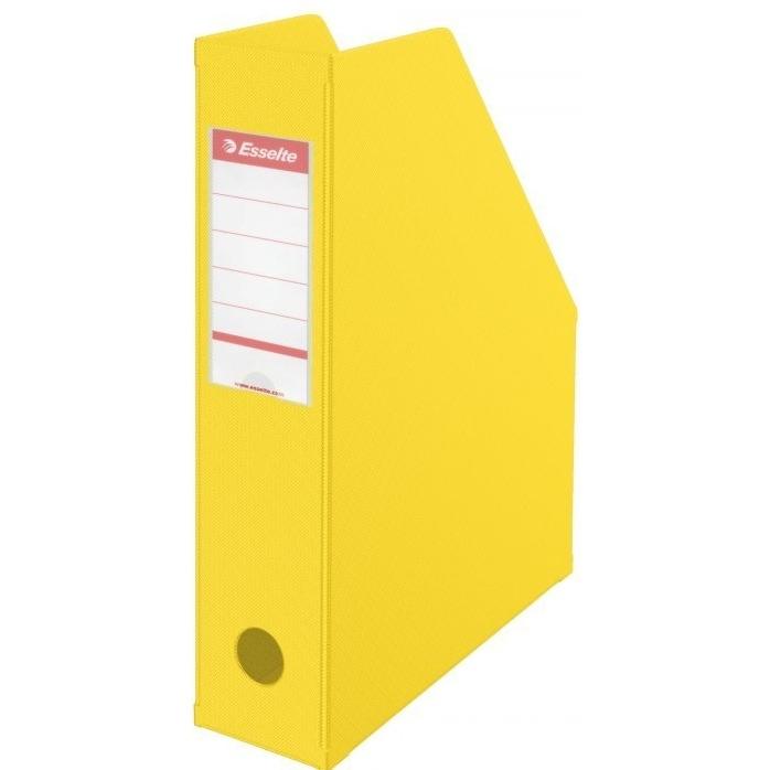 Pojemnik składany A4 70mm żółty Pvc Esselte