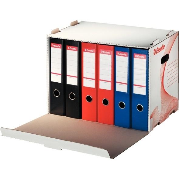 Pudło archiwizacyjne otwierane z przodu białe ESSELTE 525 x 338 x 306