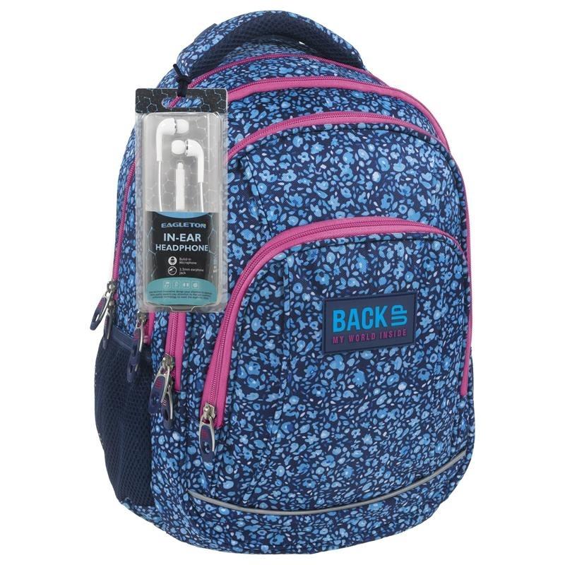 Plecak szkolny młodzieżowy BackUP model A14