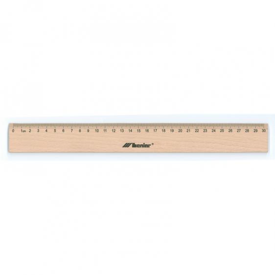 Linijka drewniana LENIAR 30 cm