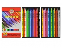 Kredki Progresso Koh-I-Noor 24 kolory