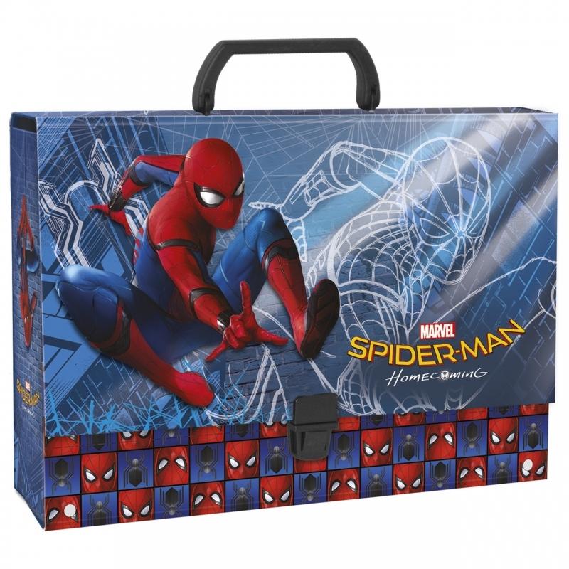 Teczka z rączką gruba A4 Amazing Spider-Man Derform