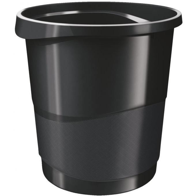 Kosz na śmieci ESSELTE EUROPOST VIVIDA 14l czarny
