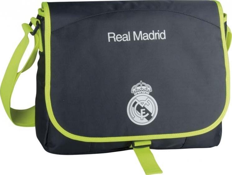 Torba młodzieżowa na ramię Real Madrid 2 Lime RM-61