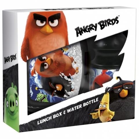 Zestaw śniadaniówka + bidon Angry Birds 13