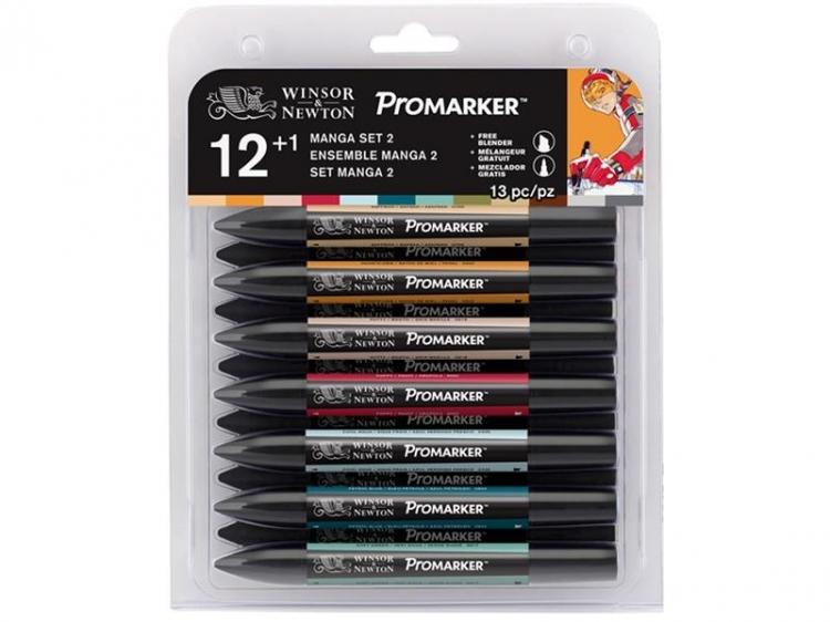 Promarker 12+1 zestaw Manga 2