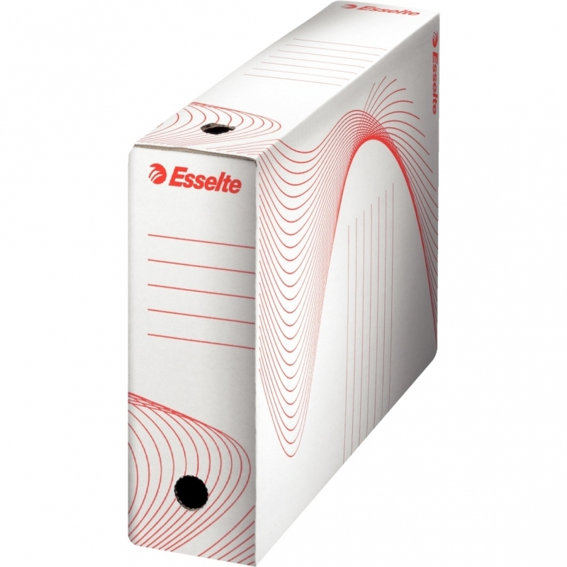 Pudełka archiwizacyjne ESSELTE BOXY 100mm białe