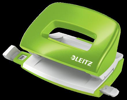 Dziurkacz biurowy Leitz Nexxt wow zielony metalik do 10 kartek