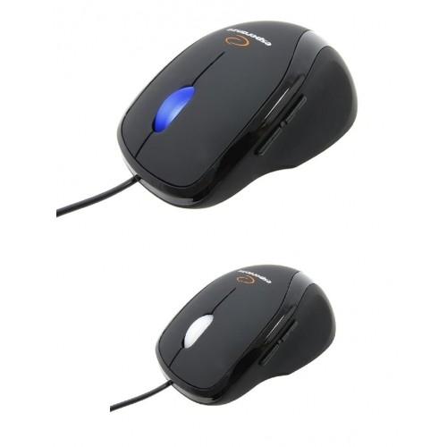 Myszka przewodowa optyczna  ESPERANZA PROXIMA 5D USB EM111 Czarna