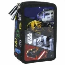 Piórnik trzykomorowy z wyposażeniem Star Wars 16