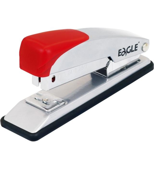 Zszywacz biurowy Eagle 205 czerwony do 20 kartek