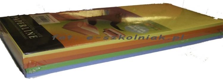 Przekładki do segregatora 1/3 A4 MIX pastel op.100szt