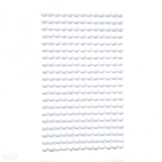 Kryształki samoprzylepne 6mm 260 białe Dalprint