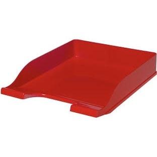 Półka na dokumenty Colors czerwona Bantex