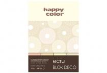Blok techniczny DECO A4/20 170g 4 odcienie ecru