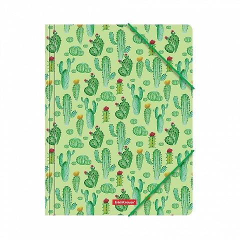 Teczka A4 PP na gumkę Tropical Cactus ErichKrause