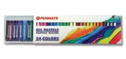 Pastele olejne 24 kolory Penmate