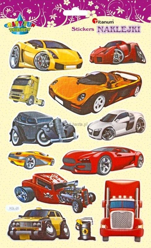 Naklejki dekoracyjne samochody