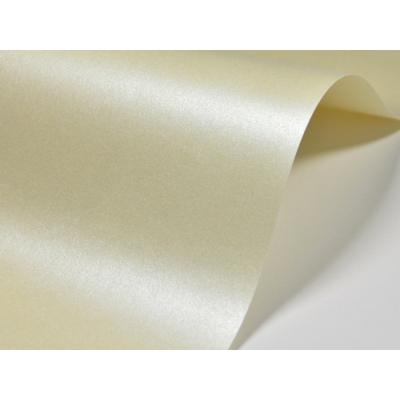 Papier ozdobny ecru metalizowany A4/20 D03 250g