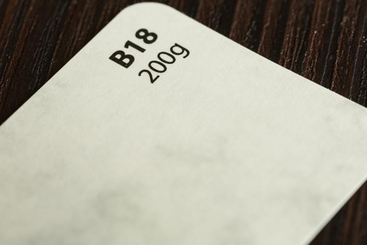Papier ozdobny o wzorze biało-szarego marmuru A4/20 B18 200g