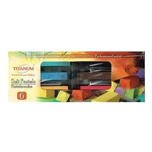 Pastele suche Titanum 6 kolorów