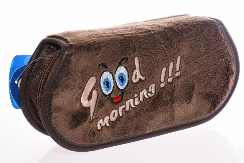 Piórnik jednokomorow Good Morning brązowy  WAR508