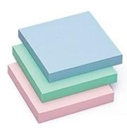 Notes samoprzylepny 75 x 75mm  pastel różowy TRES