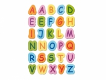 Kolorowe litery samoprzylepne alfabet 30*15