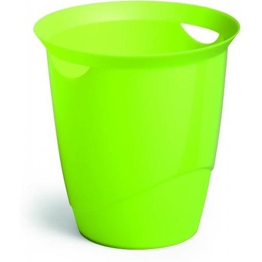 Kosz na śmieci 16l TREND zielony  DURABLE