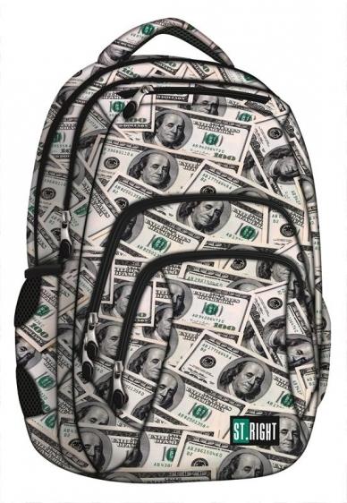Plecak młodzieżowy St.Right Dollars BP25