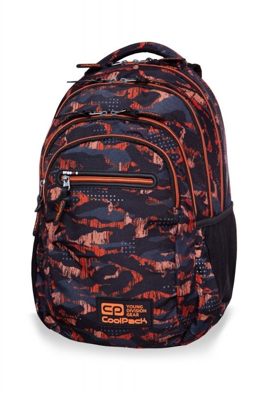 Plecak młodzieżowy Coolpack College Tech Orange