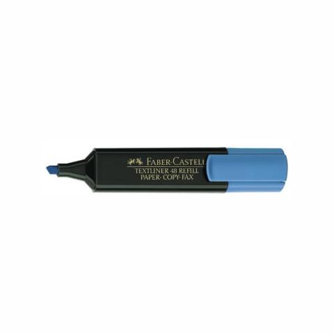 Zakreślacz Textliner niebieski (10szt) Faber-Castell