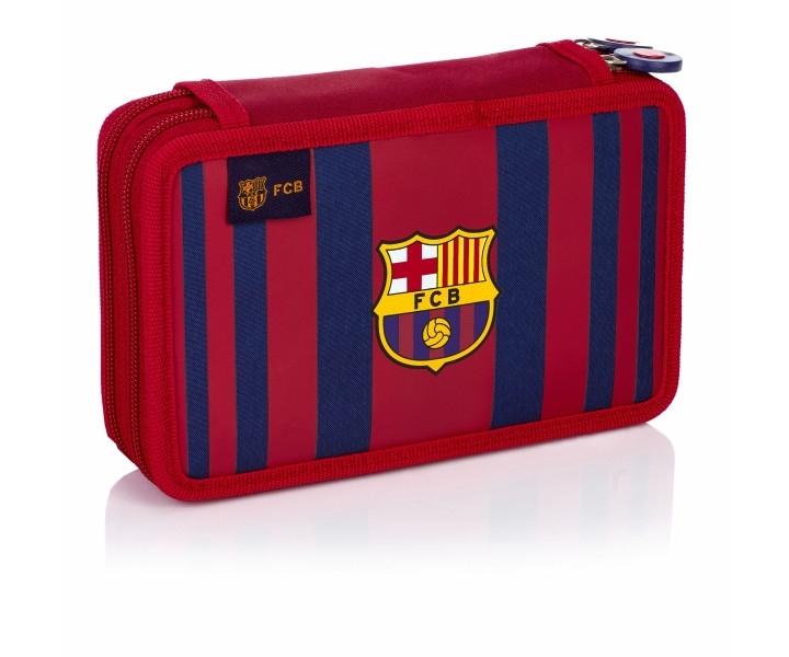 Piórnik podwójny bez wyposażenia FC Barcelona FC-188