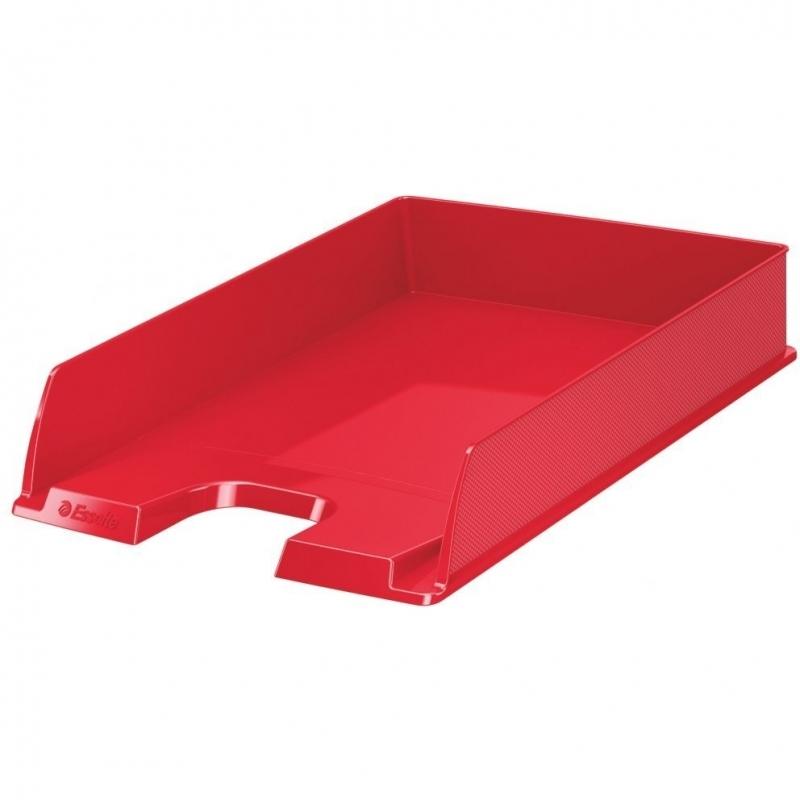 Półka na dokumenty A4 Europost Vivida czerwona Esselte