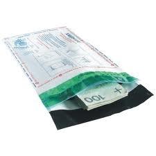 Koperta bezpieczna B5+ 185*250 transparentna
