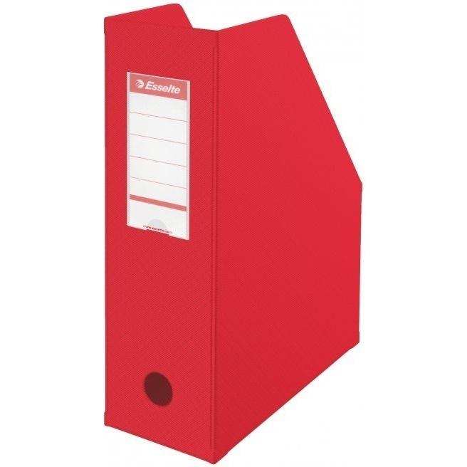 Pojemnik składany A4 100mm czerwony Pvc  Esselte