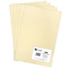 Filc poliestrowy A4 5szt Vanilla Dalprint