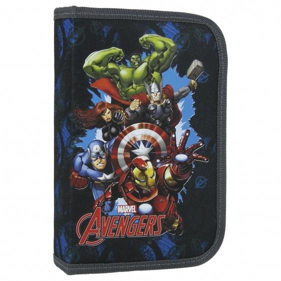 Piórnik jednokomorowy bez wyposażenia  Avengers 11