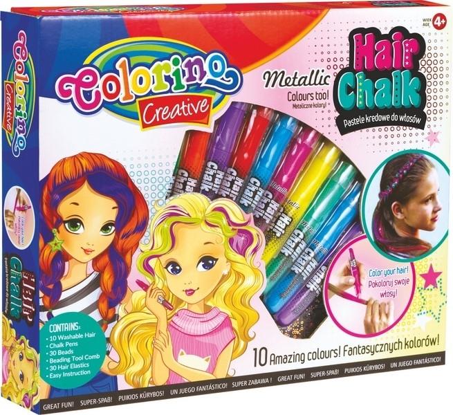 Zestaw pasteli kredowych do włosów Colorino