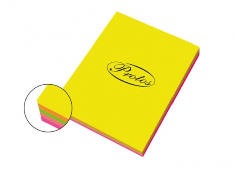 Papier ksero mix fluo A4/100 75g
