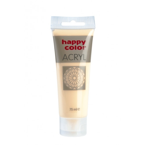 Farba akrylowa cielista 75 ml Happy Color