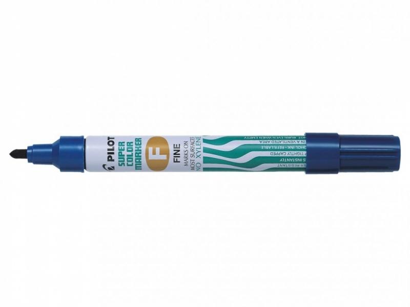 Marker permanentny sca-f Fine niebieski PIlot