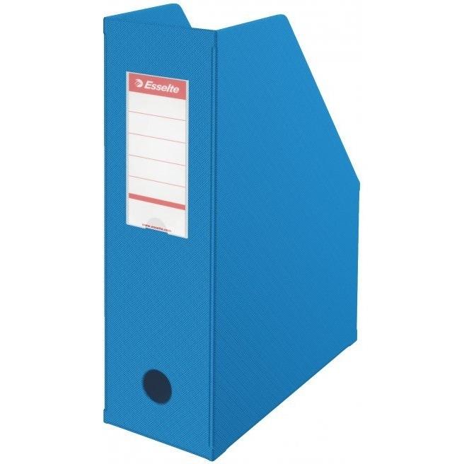 Pojemnik składany A4 100mm niebieski Pvc Esselte
