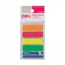 Karteczki indeksujące plastikowe neon