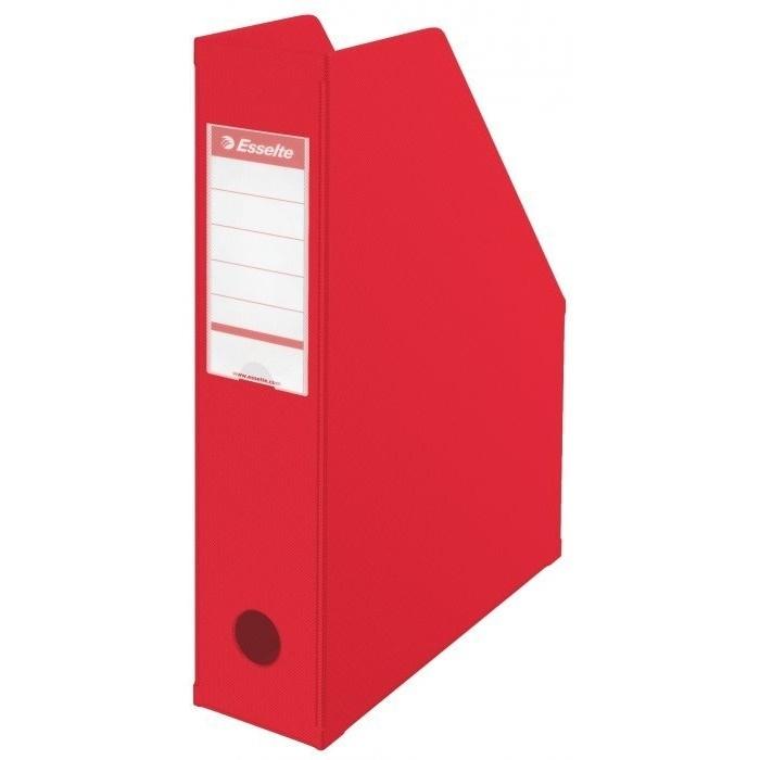 Pojemnik składany A4 70mm czerwony Pvc Esselte