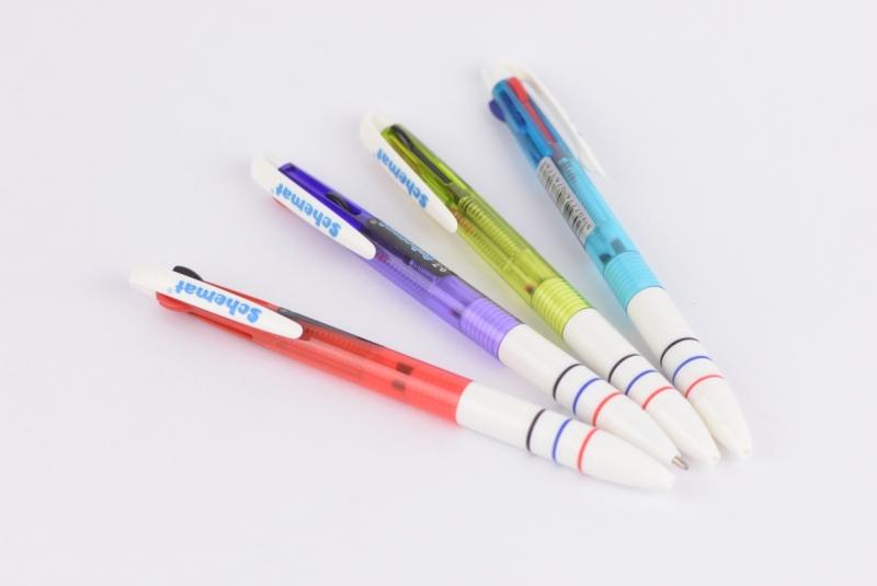 Długopis automatyczny 3 kolory 6176 Schemat