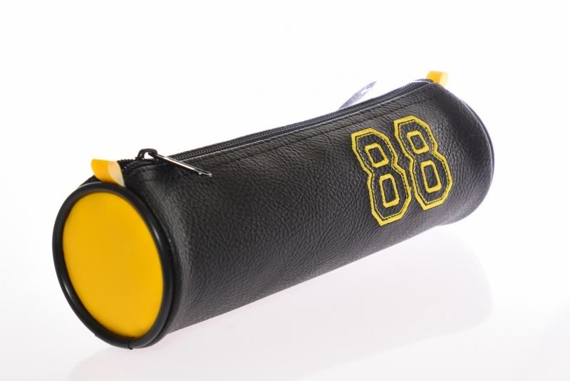 Piórnik jednokomorowy tuba  żółta WAR119