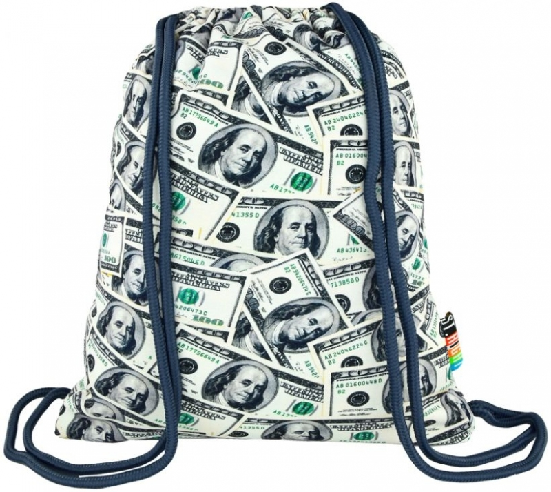 Plecak na sznurkach St.Right Dollars S011