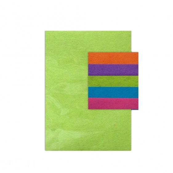 Filc poliestrowy A4 5 intensywnych kolorów Dalprint