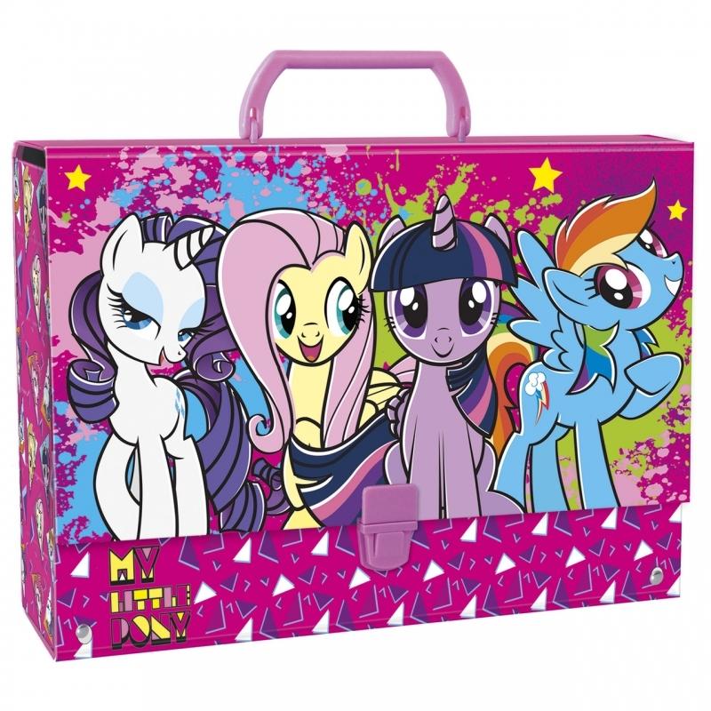 Teczka z rączką  A4 gruba My Little Pony